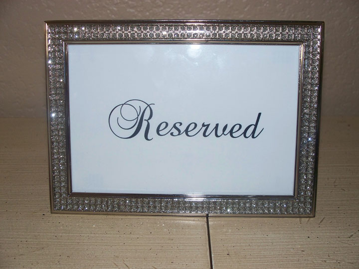 frame with inset rhinestones plus light thin rx custom wedding card bling blingpicture frames