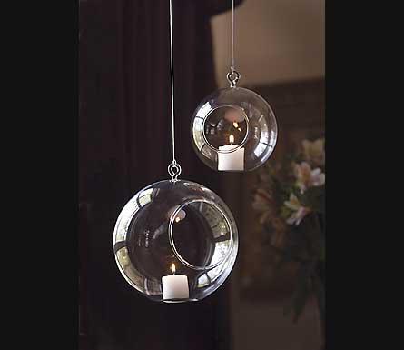 Wedding, Rental, Glass Tealight Globes