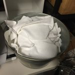 Bucket of Hand Towels (for Cleaning Off Seats Quickly when it Rains) $1.00 per towel