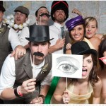 "Photobooth Fun! (Includes hats, glasses, boas, ""Face signs,"" and dry erase boards with markers)$50.00"
