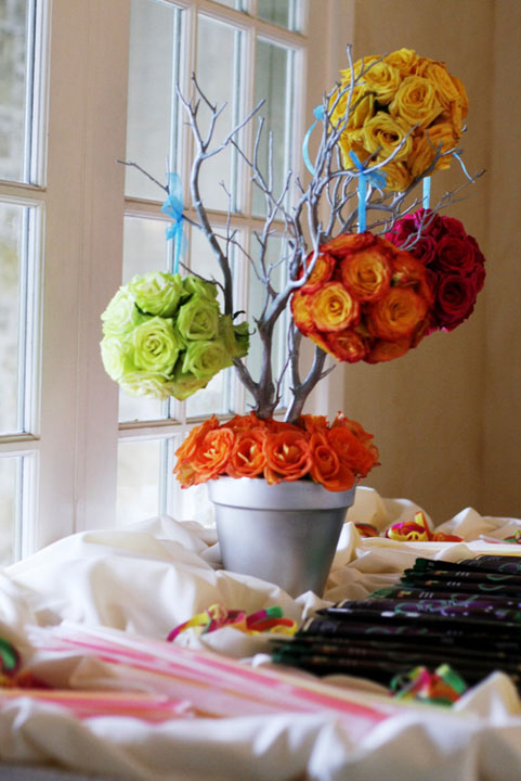 6 floral centerpieces significant events of texas for Flower arrangements for sweet 16