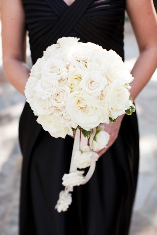 5 white bouquet black white wedding significant. Black Bedroom Furniture Sets. Home Design Ideas