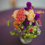 19-Orange, Purple, & Green Wedding