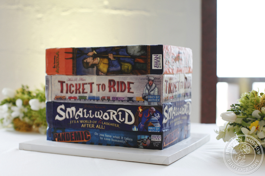 18-Board Game Groom's Cake - Significant Events of Texas ...
