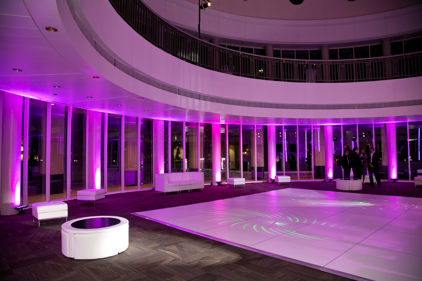 22-Purple Uplighting, Chase Rotunda Wedding - Significant ...