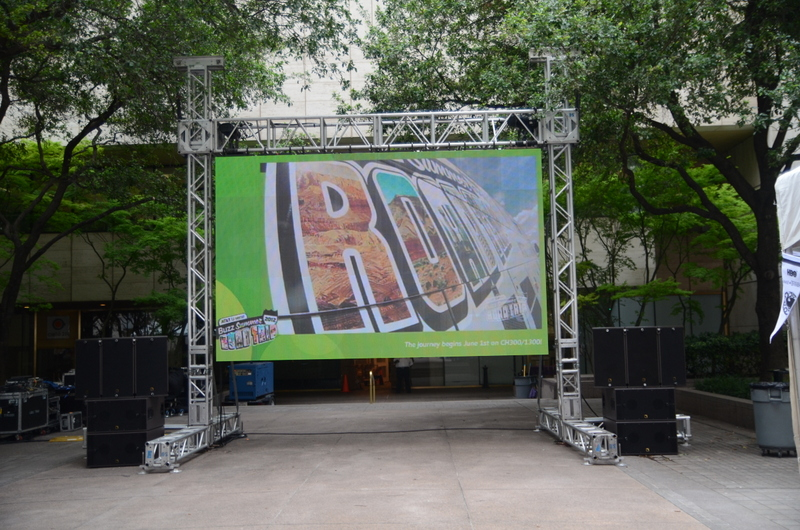4-Outdoor Jumbotron, Outdoor Projection TV, LED Wall, Corporate Event Planning-001