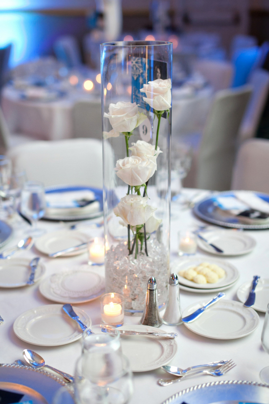 Winter wonderland centerpiece significant events of