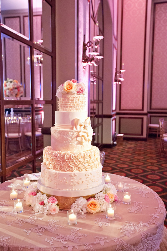 44-Blush & Ivory Wedding Cake - Significant Events of ...