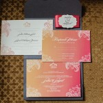 1-Ombre Wedding Invitation