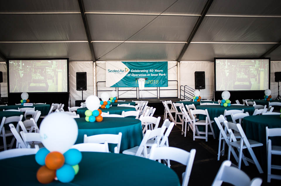 how to set up an event