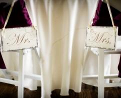 Wedding, Rental, Sweetheart Signs (Mr. & Mrs)