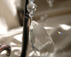Wedding, Rental, Short Hanging Crystals