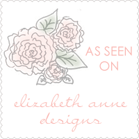 As seen on Elizabeth Anne Designs