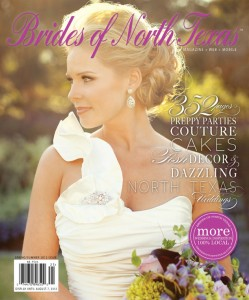 Featured in Brides of North Texas 2012