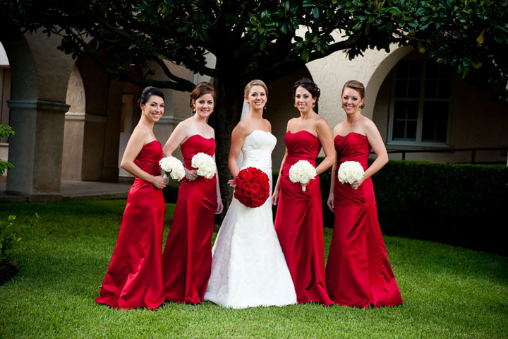11-Bridesmaids, Red & White Wedding - Significant Events ...