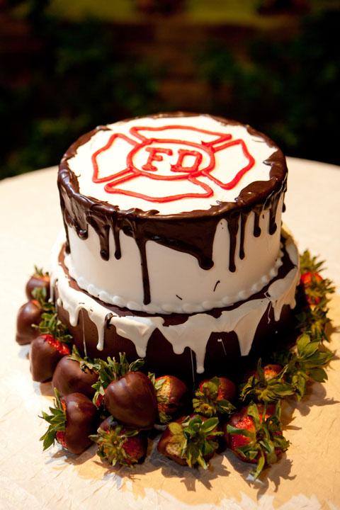 Firefighter Cake Design