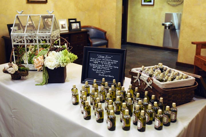 42-Wedding, Olive Oil Favors - Significant Events of Texas – Event ...