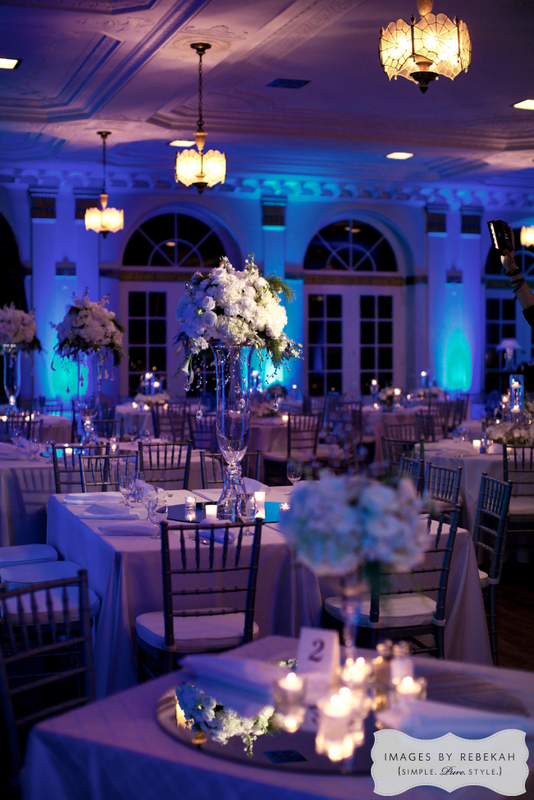 21-Winter Wedding, Blue and White Wedding, YWCA Ft. Worth ...