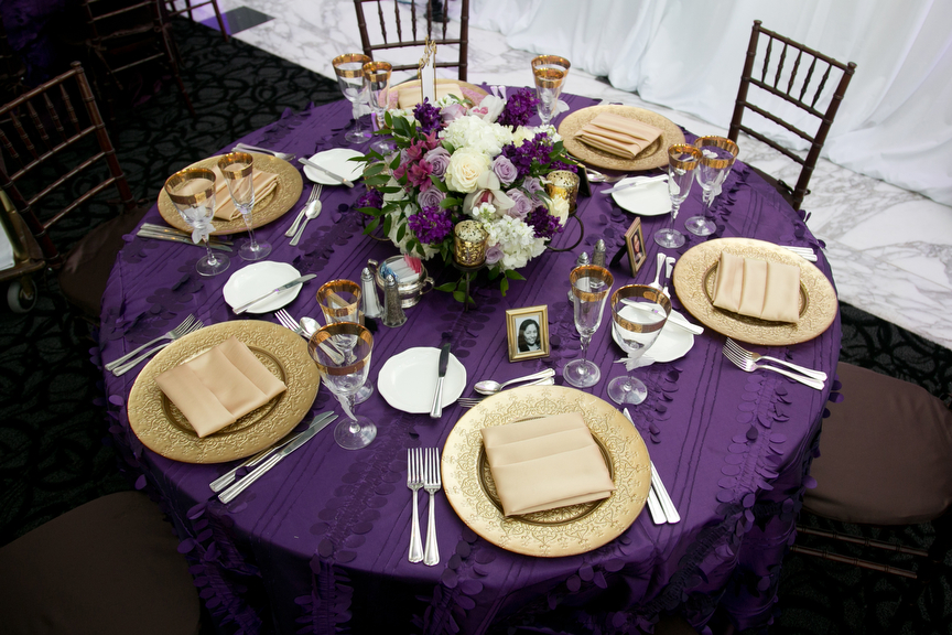 14-Purple, Green, & Gold Wedding - Significant Events of ...