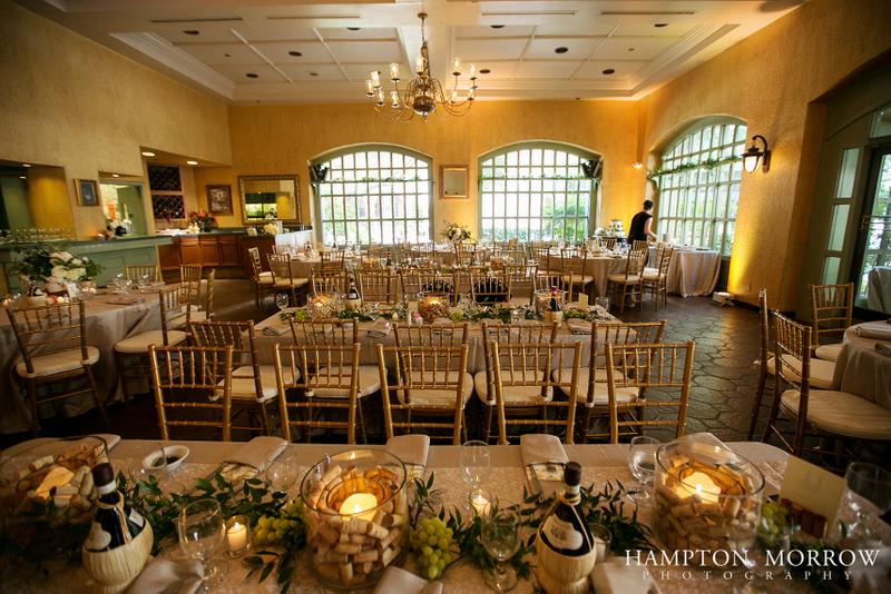 36 Venetian Terrace Wedding Ivory Green Taupe Italian Themed