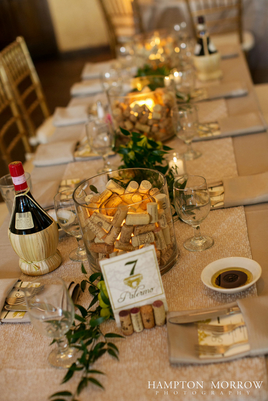 37-Ivory-Green-Taupe-Wedding-Italian-Themed-Wedding-Wine-Cork-Centerpieces.jpg