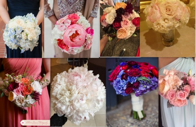 Bridesmaids Bouquets-Lush Couture