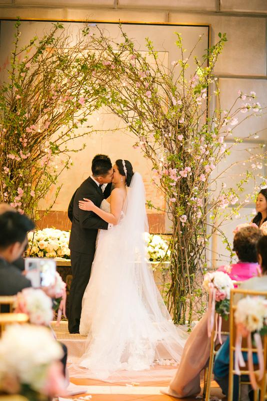 24 Cherry Blossom Ceremony Arch