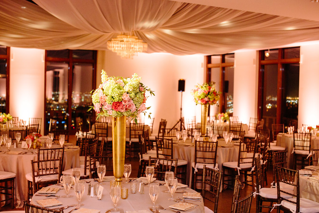 25 cityplace wedding peach pink coral green gold wedding