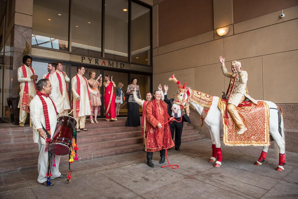 12 Indian Wedding Baraat Fairmont Dallas