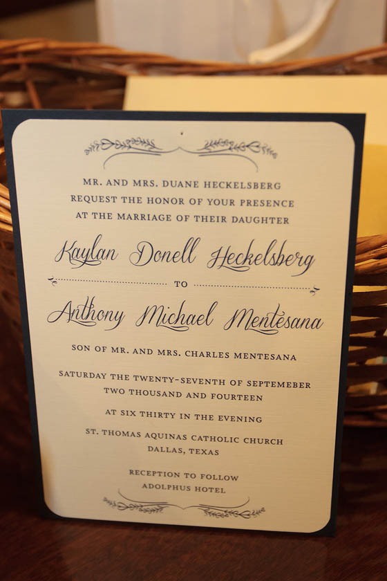 0-Navy & Ivory Invitation