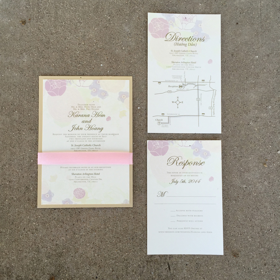 Wedding Invitations - Significant Events of Texas – Event & Wedding ...