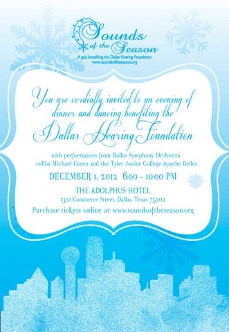 1-Blue & White Invitation