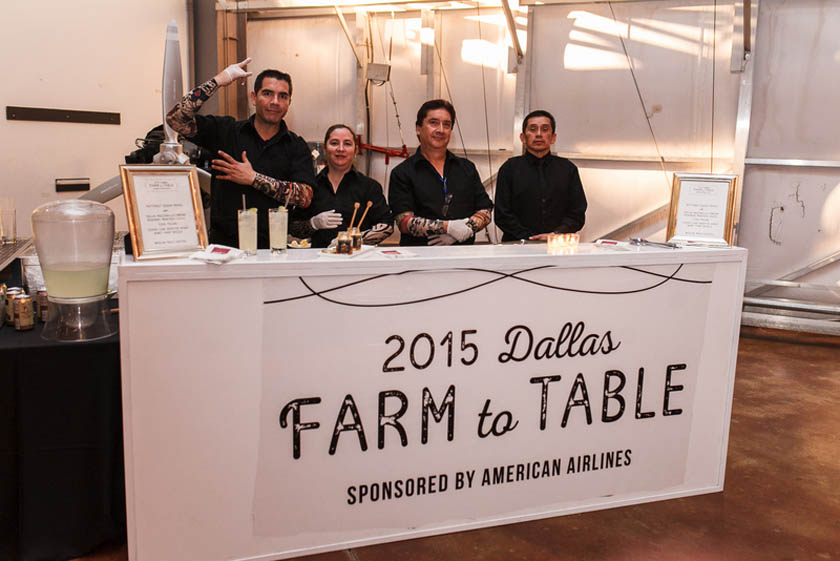 26-Farm to Table Station; Frontiers of Flight Charity Gala