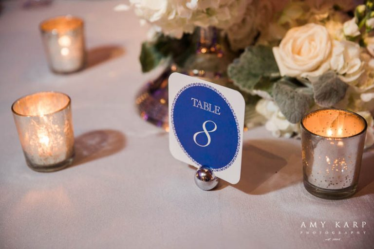 34-Blue, Silver, & White Wedding; Winter Wedding