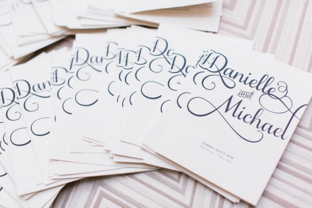 36-Black & White Wedding