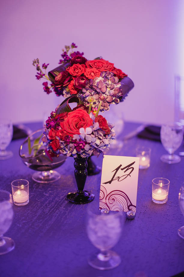 39-Red & Purple Wedding, Modern Wedding, Swirl Wedding