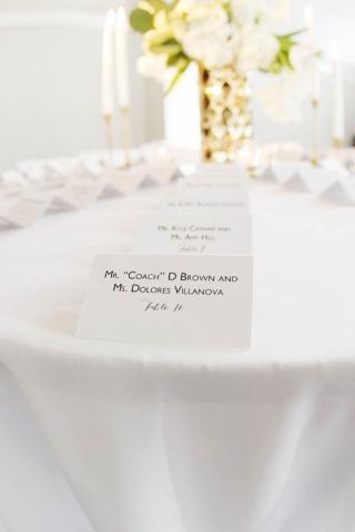 54-Black & White Wedding