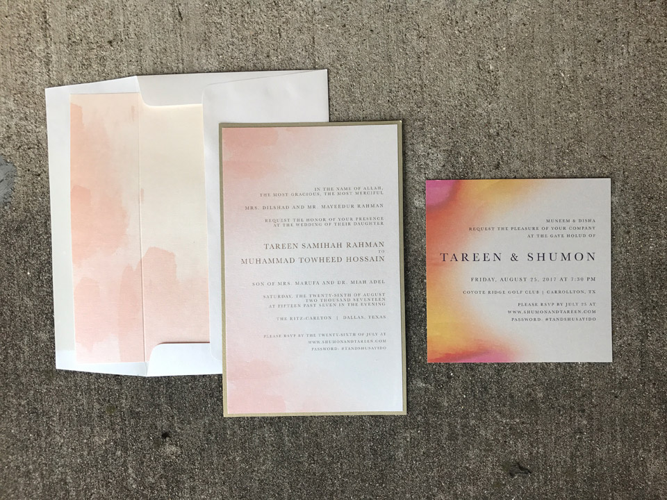 Wedding Invitations Significant Events of Texas Event – Black White and Pink Wedding Invitations