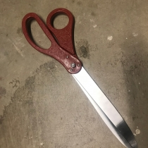 Oversized Scissors for Ribbon Cutting