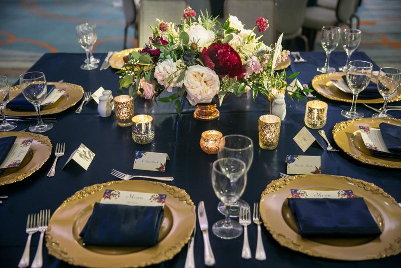 Burgundy And Gold Wedding Wedding Photography